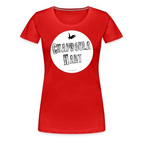 CHAPDOULA_rond_BLANC - Women's Premium T-Shirt