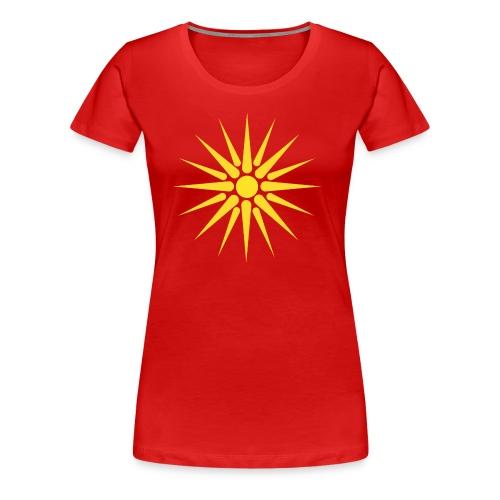 MACEDONIA - Women's Premium T-Shirt