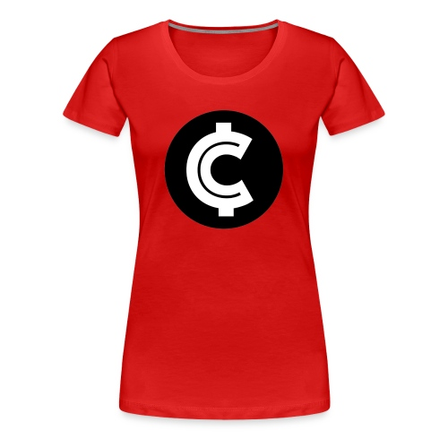 Crypto Coin RIch Logo - Women's Premium T-Shirt