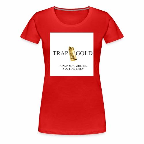 trap gold logo - Women's Premium T-Shirt