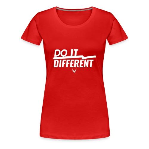 Do It Different merch by Maverick Apparel - Women's Premium T-Shirt