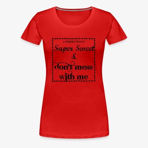 Delightful Blend - Women's Premium T-Shirt