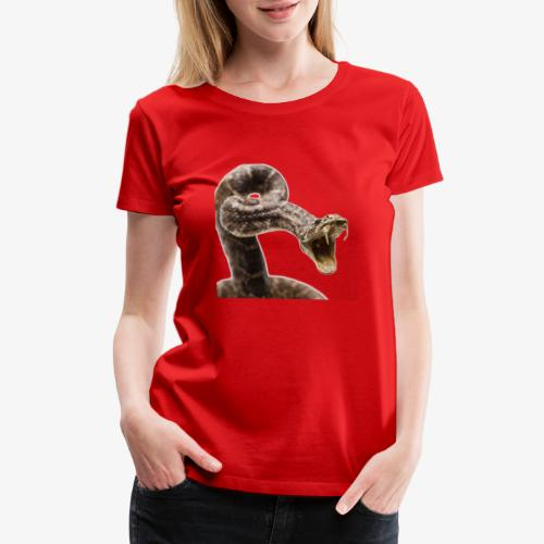 Diamondback Snake - Women's Premium T-Shirt