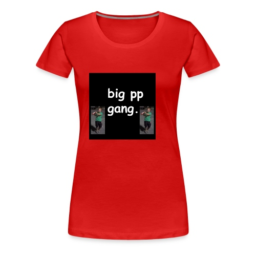 big pp gang - Women's Premium T-Shirt