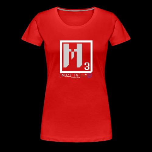 M3ZZ TV SOCIAL NETWORKS LIGHT - Women's Premium T-Shirt