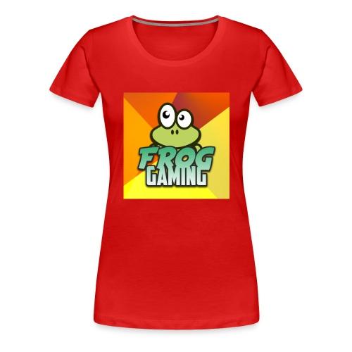 Frog Gaming Logo - Women's Premium T-Shirt