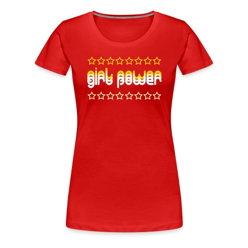 girl power - Women's Premium T-Shirt
