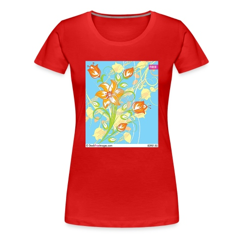 flowers67 - Women's Premium T-Shirt