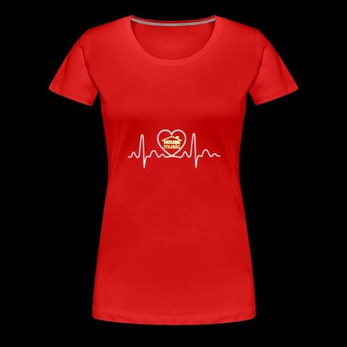 House Music Pulse! - Women's Premium T-Shirt
