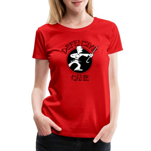 Defensive Cane - Women's Premium T-Shirt