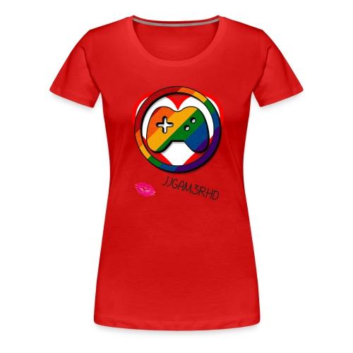 JJGAM3RHD Premium Valentines - Women's Premium T-Shirt