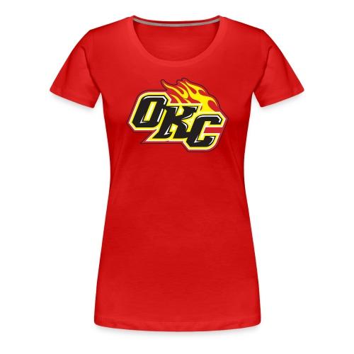 OKC Flame - Women's Premium T-Shirt