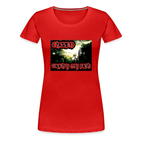 Crucify my flesh - Women's Premium T-Shirt