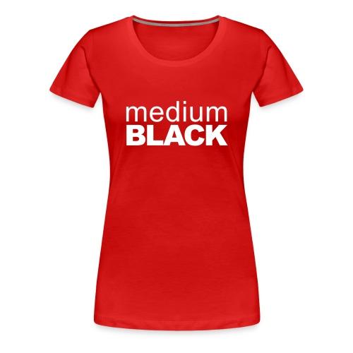 signature2lineswhite - Women's Premium T-Shirt