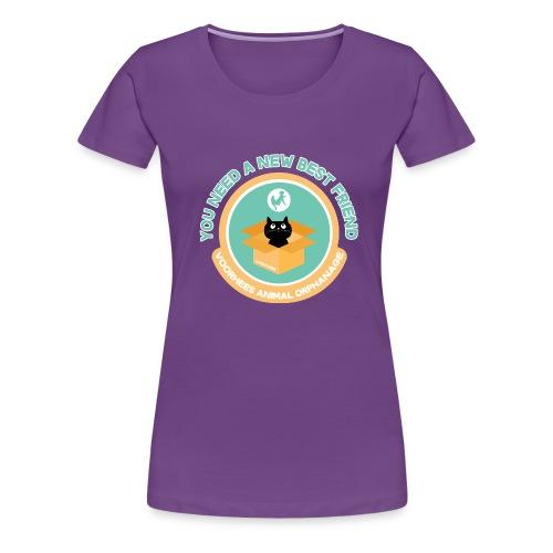 New Best Friend - Women's Premium T-Shirt