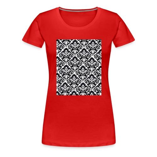 Damask Case - Women's Premium T-Shirt