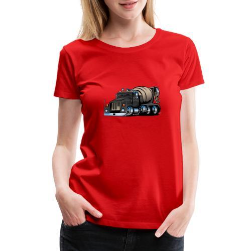 Cement Mixer Truck - Women's Premium T-Shirt