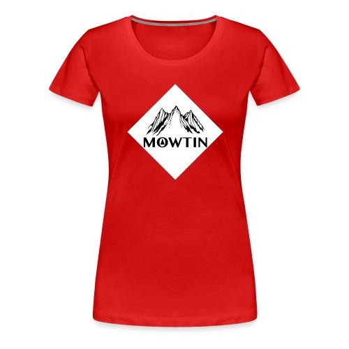Black_Outline_Design - Women's Premium T-Shirt