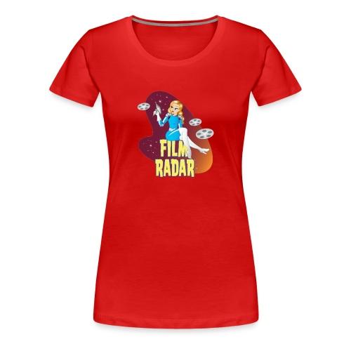 Film Radar space girl logo - Women's Premium T-Shirt