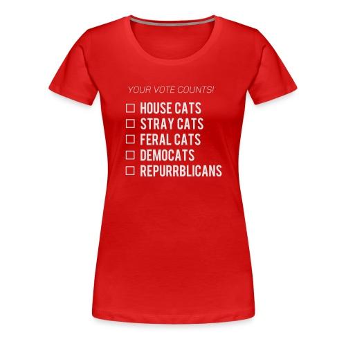 Democats & Repurrblicans - Women's Premium T-Shirt