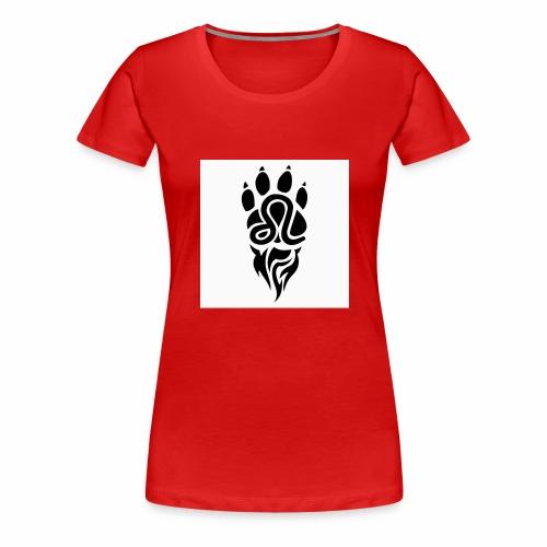 Black Leo Zodiac Sign - Women's Premium T-Shirt