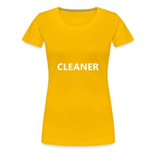 Cleaner - Women's Premium T-Shirt