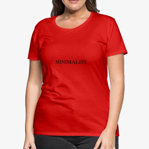 Minimalist Simple Desing - Women's Premium T-Shirt