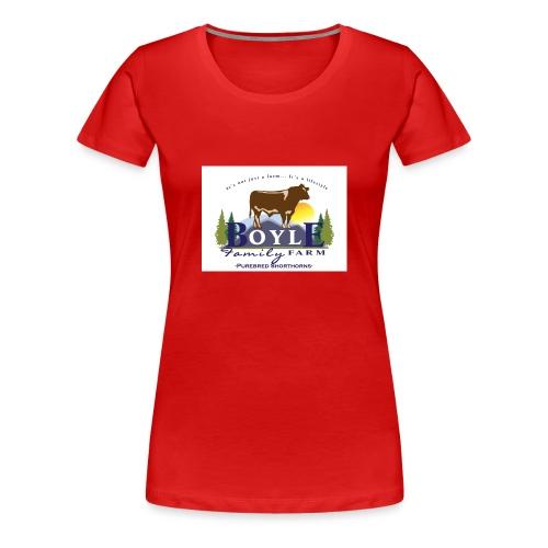 Farm logo - Women's Premium T-Shirt