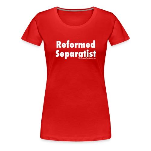 35 Separatist white lettering - Women's Premium T-Shirt