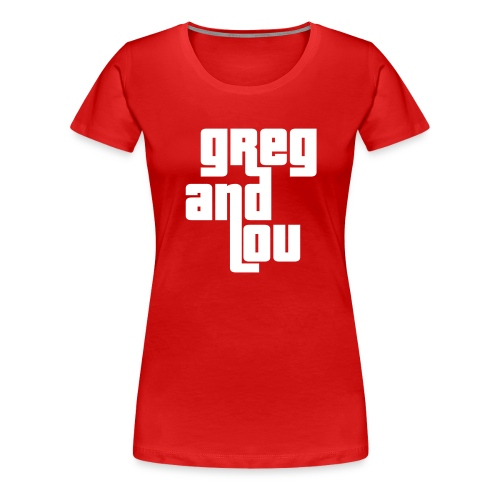 greg and lou title - Women's Premium T-Shirt
