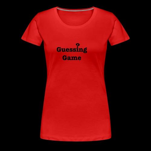 Question - Women's Premium T-Shirt
