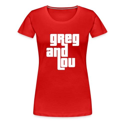 greg and lou title - Women's Premium T-Shirt
