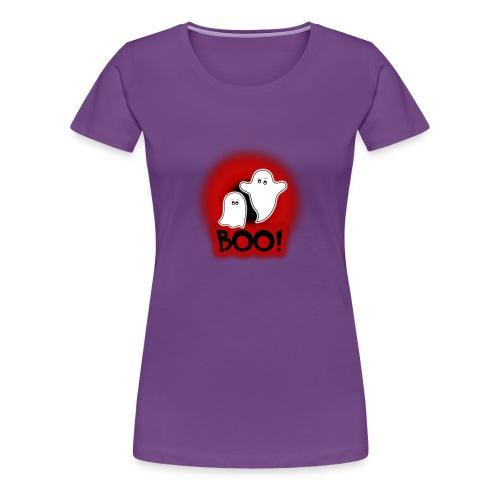 Ghosties Boo Happy Halloween 1 - Women's Premium T-Shirt