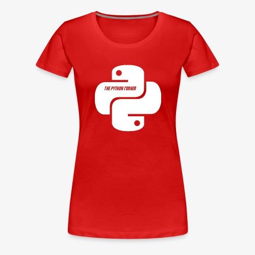 The Python Corner - Women's Premium T-Shirt