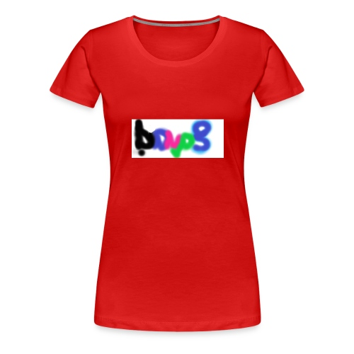 brush the haters off - Women's Premium T-Shirt