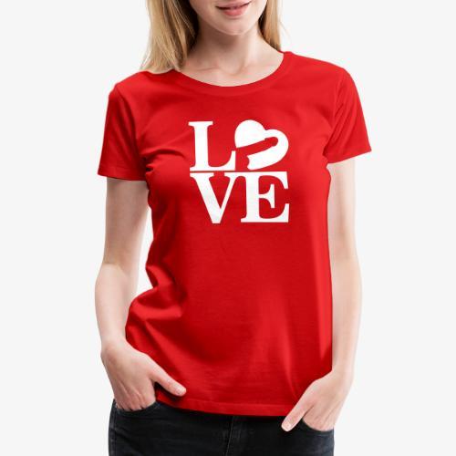 Love Cock - Women's Premium T-Shirt