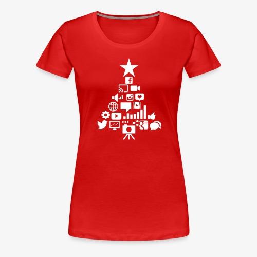 Social Blade Christmas Tr - Women's Premium T-Shirt
