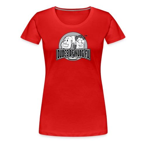 Dudes of Kung Fu - Women's Premium T-Shirt