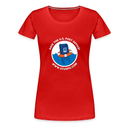 Save the U.S. Post Office - White - Women's Premium T-Shirt
