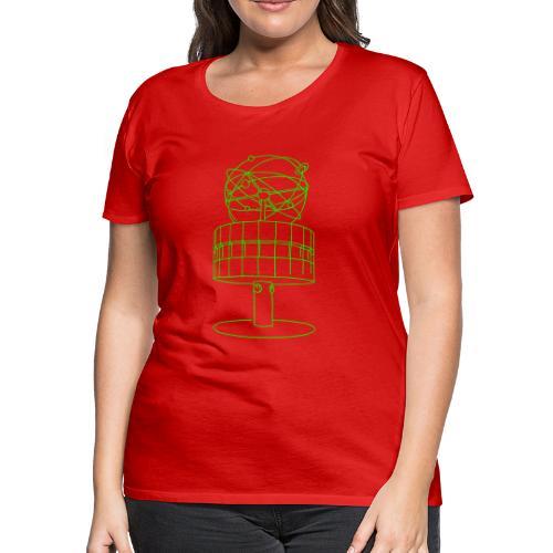 World time clock Berlin - Women's Premium T-Shirt