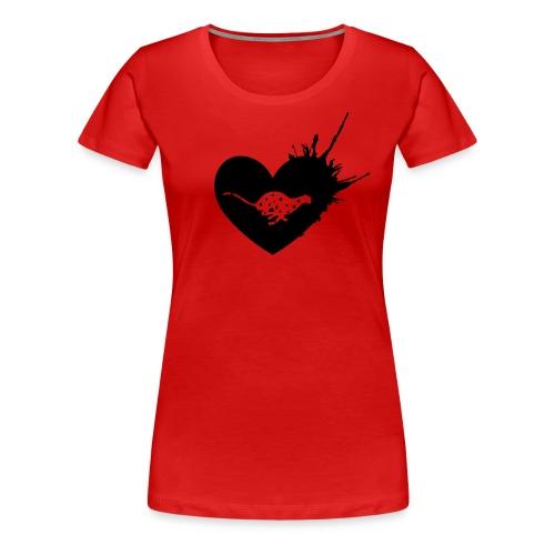 Cheetah Love - Women's Premium T-Shirt