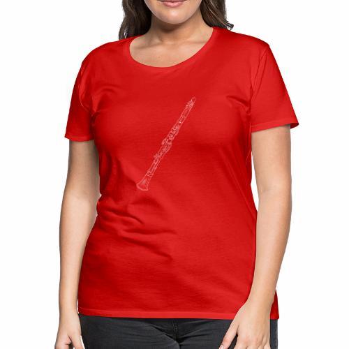 Clarinet · white rotate - Women's Premium T-Shirt