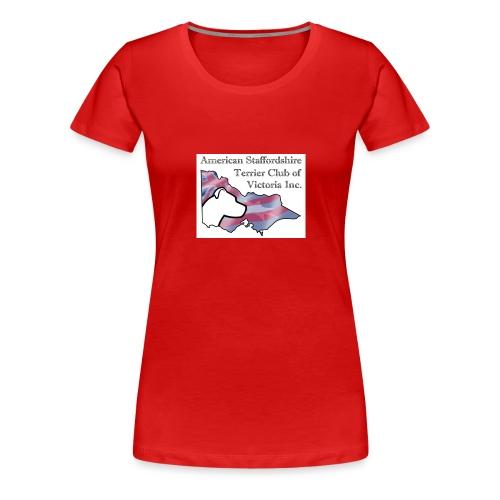 ASTCV Logo Colour on White - Women's Premium T-Shirt