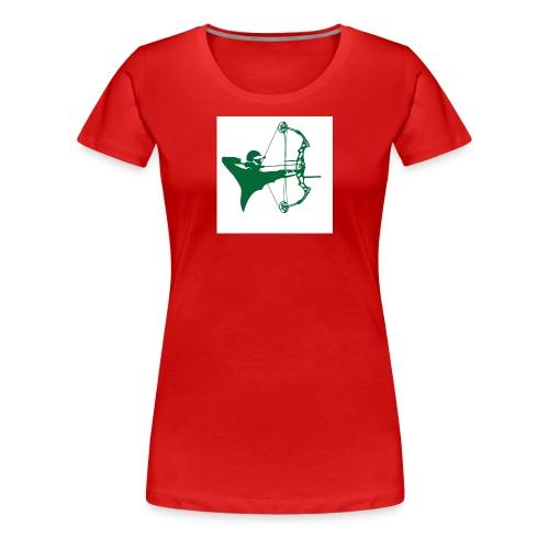 man with bow - Women's Premium T-Shirt
