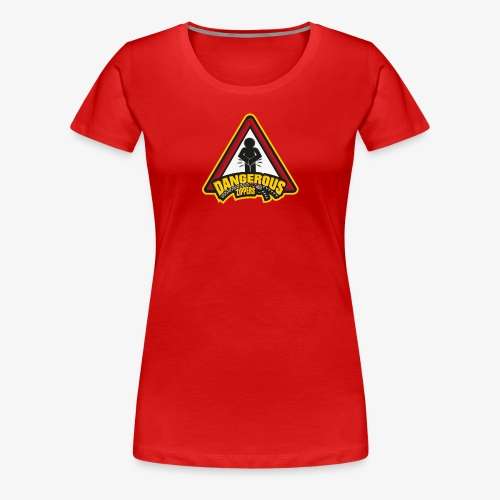 Dangerous Zipper Logo - Women's Premium T-Shirt