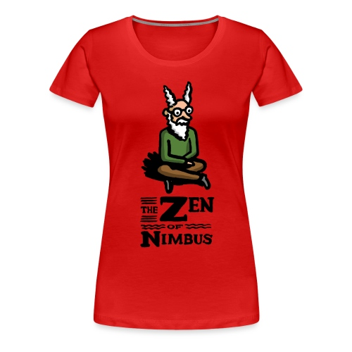 The Zen of Nimbus t-shirt / Nimbus color with logo - Women's Premium T-Shirt