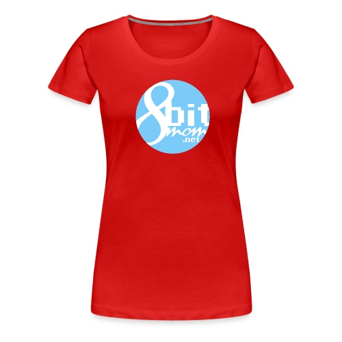 8bit logo - Women's Premium T-Shirt