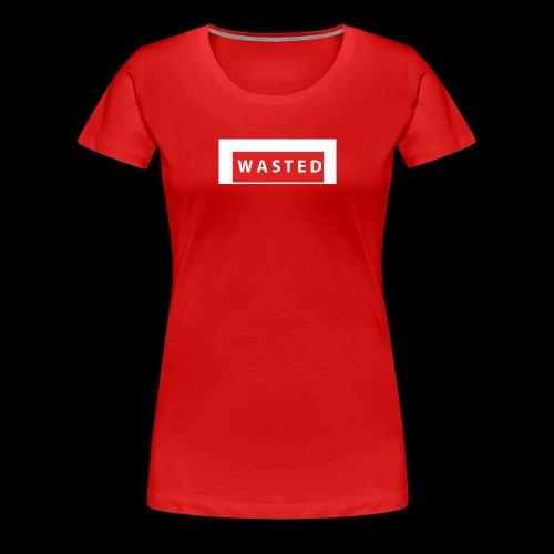 The Grid Apparel WASTED - Women's Premium T-Shirt