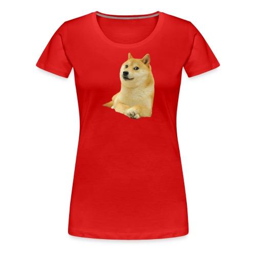 doge - Women's Premium T-Shirt