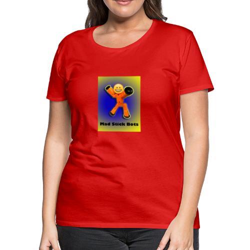 Stick Bot Poster - Women's Premium T-Shirt